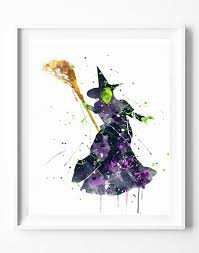 the wizard of oz prints prints witch