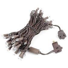 brown cord mini lights outdoor string lights ebay