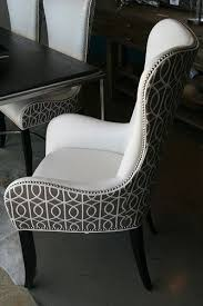 Dining Room Arm Chairs Best 25 Upholstered Dining Chairs Ideas On Pinterest Fabric