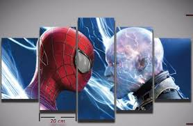 compare prices spiderman art painting shopping buy