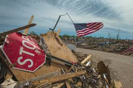 Flag Of Oklahoma Storm Chasers Ride The Winds Undaunted By Danger The Japan Times