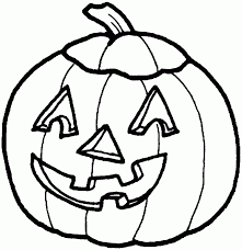 Drawing Of Halloween Pumpkin Coloring Pages Of Halloween Coloringstar