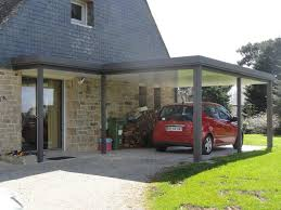photos de verandas modernes préaux pergolas et abris de voiture line services
