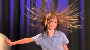 hair generator van de graff generator youtube