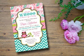 owl baby shower invitations templates ideas best invitations