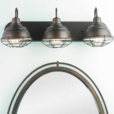 Industrial Guard Sconce by Industrial Cage 3 Light Vanity Light Shades Of Light