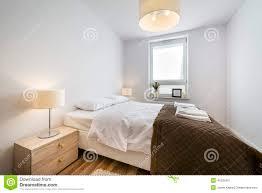 Scandinavian Bedroom Design Modern Scandinavian Interior Design Bedroom Stock Photo Image