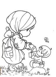 shepherd precious moments coloring pages colour wonderful