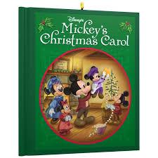 disney mickey mouse mickey s carol ornament keepsake