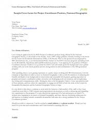 sample cover letter project manager pleasant design cover letter