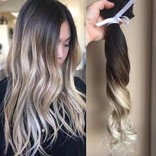 hair clip extensions ombre hair extensions balayage hair extensions wedding hair