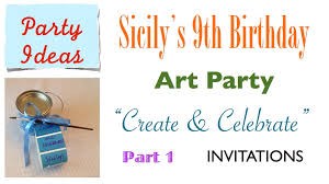 Freshers Party Invitation Cards How To Make Cute U0026 Easy Art Party Invites Your Guests Will Adore
