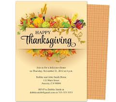 thanksgiving party template u2013 festival collections