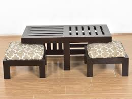 Sheesham Wood Furnitures In Bangalore Hemi Sheesham Coffee Table With Stools Buy And Sell Used