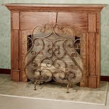 home decor simple decorative fireplace screen design decor