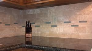 Stacked Stone Kitchen Backsplash by Beige Travertine Subway Backsplash Tile Floor Decoration