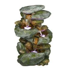 Fountains Outdoor Decor The Home Depot - Pond lights home depot