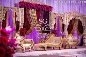 see flowers draped across mandap y u0027all check out this wedding at