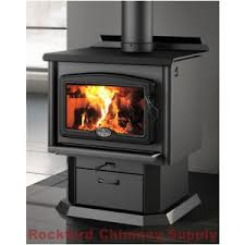 Pedestal Wood Burning Stoves Osburn 1600 Wood Stove With Pedestal Cast Iron Door And Ash