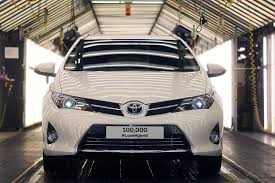 lexus rx400h recall uk the motoring world toyota celebrates as uk sales of hybrids hits