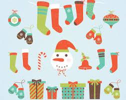 holiday clip art etsy