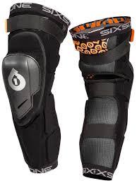 sixsixone motocross helmets six six one black 2017 rage hard pair of mtb knee and shin guard