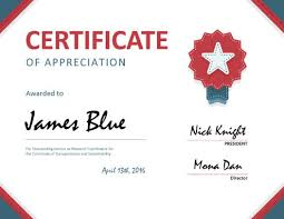 examples of certificates of completion 8 free printable certificates of appreciation templates