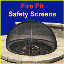 Firepit Screen Pit Screens Pit Grates Spark Screens Ember Screens