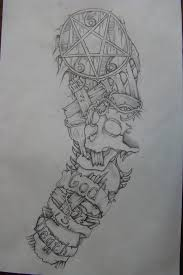 sleeve drawing done 3 yrs ago by chrismorillo on deviantart tatto