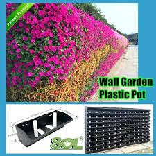 garden wall planters plastic hydro plastic vertical garden wall