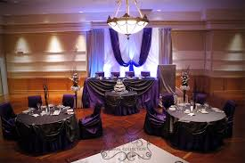 Decorating With Plum Plum And Silver Wedding Decorations