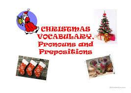 christmas prepositions worksheet preposition worksheets