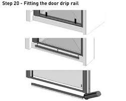 Shower Door Drip Orbital Bi Fold Shower Door 760 Silver