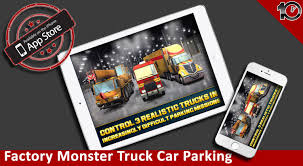 monster truck car racing games factory monster truck car parking simulator game real driving