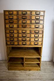 vintage pine filing cabinet for sale at pamono