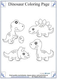 16 dinosaur coloring pages images dinosaur