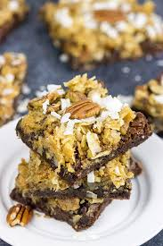 german chocolate brownies spiced
