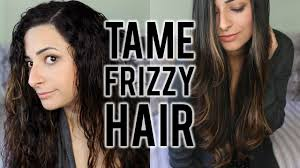 how to tame gray hair how to tame frizzy hair haircare routine to straighten curly hair