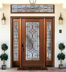 Fiberglass Exterior Doors With Sidelights Fiberglass Front Doors With Sidelights Pepperpunch Info