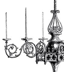 Black Gothic Chandelier Vintage Gothic Chandelier Image The Graphics Fairy