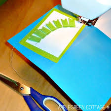how to make a happy birthday card using scraps applegreen cottage