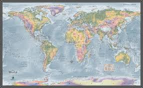 The World Map Labeled by World Topographical Map Topographic Map Of World Elevation