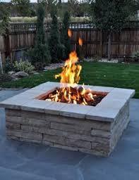 Diy Natural Gas Fire Pit by Our Cinder Block Fire Pit Ablaze U2026 Pinteres U2026