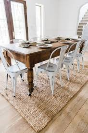 dining room metal spring chairs oak upholstered dining room