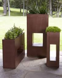case study planters with walnut stand case study planters and