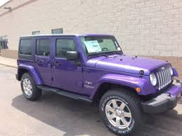 purple jeep 2017 jeep wrangler unlimited sahara