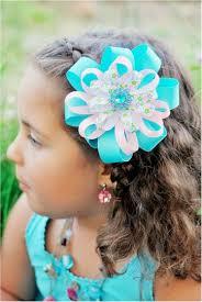 girl hair bows a new twist on pretty ribbon hair bows the frugal
