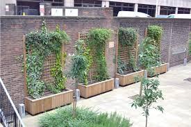 diplomat roof garden planters street design