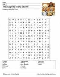 thanksgiving word search for 28 words no diagnonals