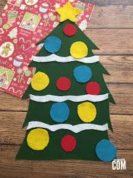 christmas craft felt christmas tree it u0027s a mother thing